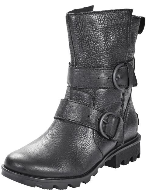 Sorel W's Phoenix Moto Boots Black